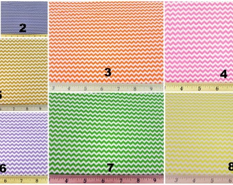 Mini Chevron Zigzag Rick Rack Fabric