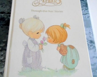 Precious Moments, Through the Year Bedtime Stories, by Samuel J Butcher Company.