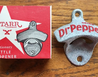 "Vintage NOS Starr ""X"" Bottle Opener w/ Original Box"