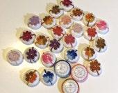 27 crochet decorated mini-soaps