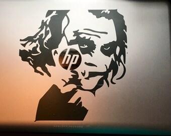 Joker decal for laptop phone tablet