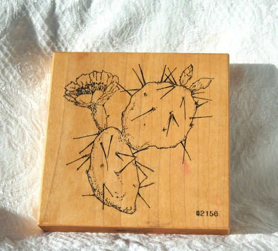 Blooming Desert Rubber Stamps 67