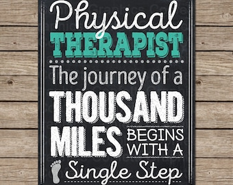 Physical Therapy Quotes Magnificent Physical Therapy Art  Etsy