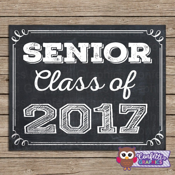 Senior Class of 2017 Grad Graduation High School College