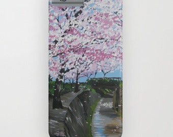 phone cover, Japanese phone case, 5s case,5c, 4s, 3, 3G, ipod touch, galaxy s5, galaxy s4 , blossom phone cover, cherry blossom phone case
