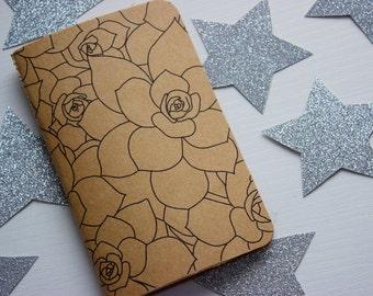 Succulent Handmade Journal