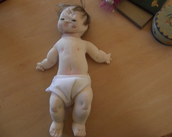 soft baby body for parts - ooak