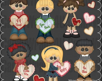 My Funny Valentine CU Clipart