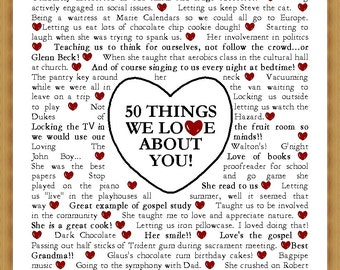 Things We Love About You