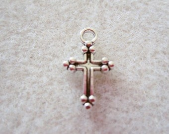20 -  Double Sided Cross Charms