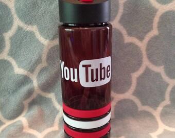 Youtube Water Bottle / Youtube Cup / Youtube Mug