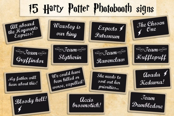 Invaluable image throughout harry potter printable props