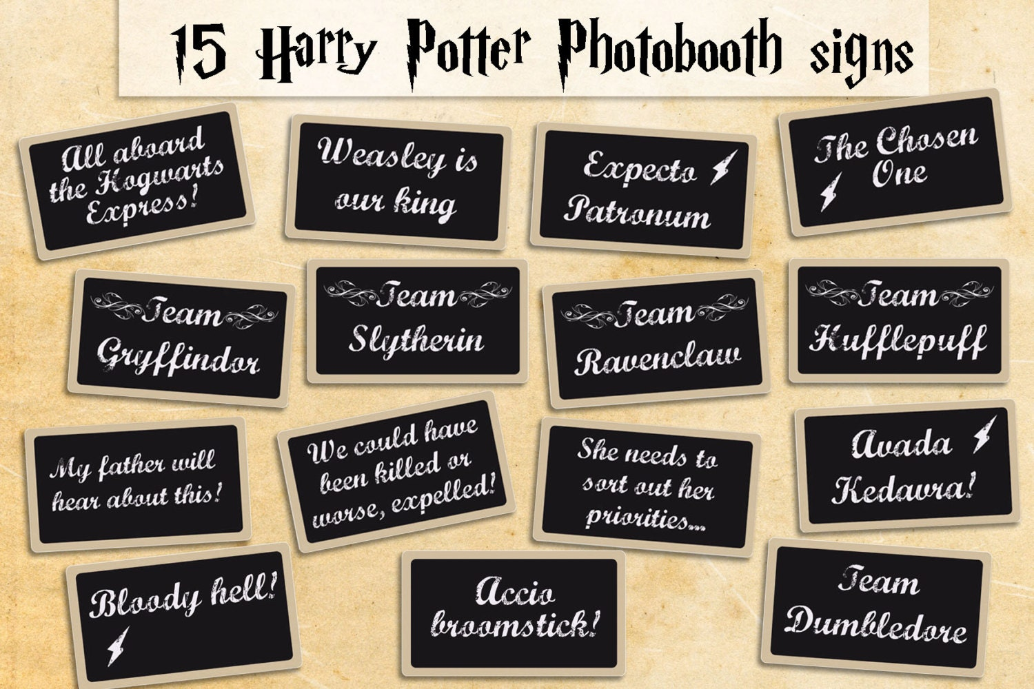 Crazy image intended for harry potter decorations printable