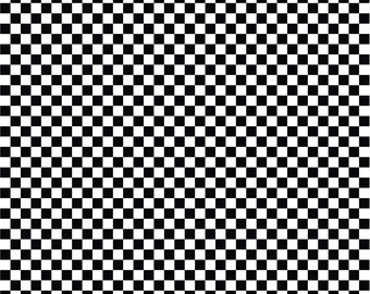 Black and white checkerboard craft  vinyl pattern sheet - HTV or Adhesive Vinyl -  htv2401