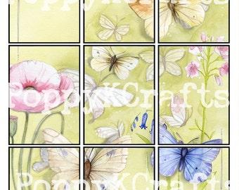Butterfly Pocket Letter Printable