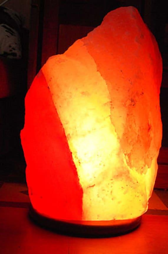 Salt Rock Lamp Extra Large : EXTRA LARGE Pink/Red/White Himalayan Salt Lamp by NaturesWhimsey1
