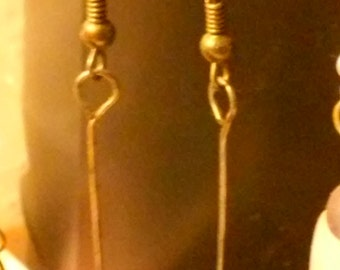 Amazonite Dangly Earrings