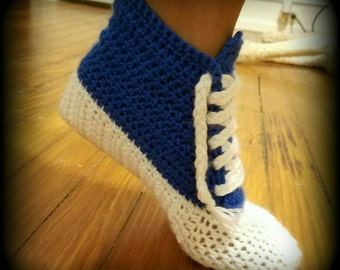 High Top Sneaker Foot Cozy