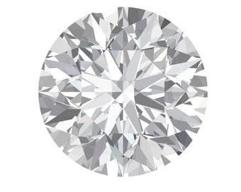 Loose Moissanite| Forever Brilliant Round Cut| Diamond Alternative