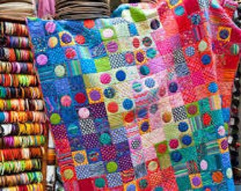 LOSING MY MARBLES Quilt Kit- Quilts In Italy Book  by  Kaffe Fassett  New July 2016