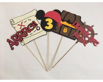 Pirate Mickey Centerpiece