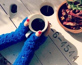 Crochet mitts / Fingerless gloves