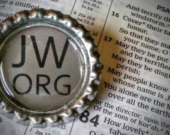 JW.org pin- Grey
