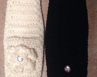 One Crochet Headband Ear Warmer