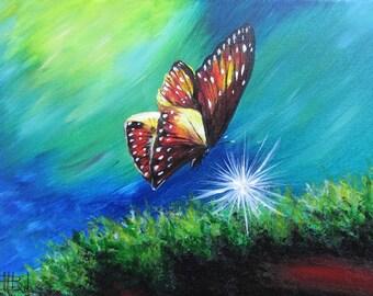 Butterfly. Fine Art Print.