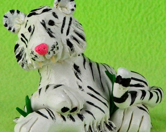 Tiger - Made to Order Polymer Clay Figurine