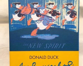 Donald Duck Andy Warhol Notecards and Envelopes