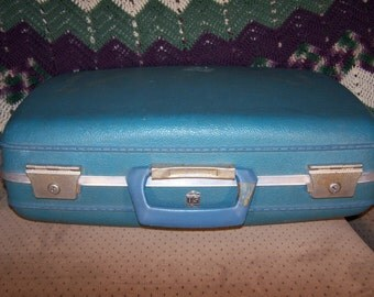 Teal Suitcase