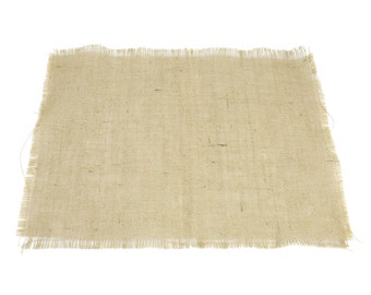 """Burlap Placemat 13""""x17"""" - set of 6 for dinner tables and banquet tables for special events. Other colors are available. (BF-Pxx)"""