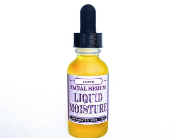 Moisturizer, Dry Skin Relief, Vegan, Face Serum, Skin Brightener, Even Skin Tone, Anti Aging,  LIQUID MOISTURE Face Serum