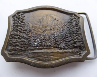 Vintage 1977 'Yosemite' Belt Buckle MADE IN USA - Lovely!!!
