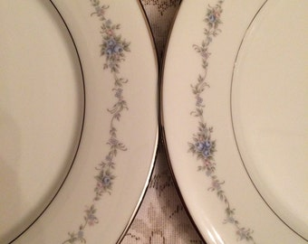 Vintage Dinner Plate Set (6)