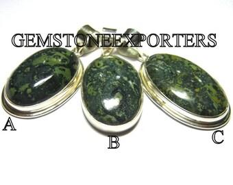 Sterling Silver Heenalite Pendant-Per Piece