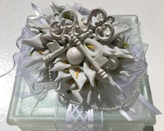 Lighted Calla lily block