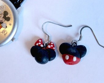 Minnie & Mickey Earrings