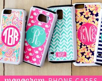 Monogrammed Phone Cases