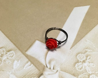 Night rose ring