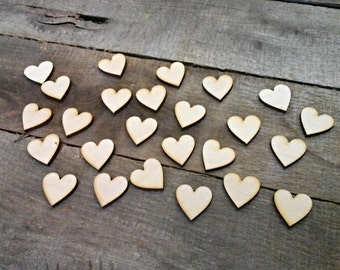 Heart Cutouts - Pack of 25