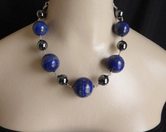 Dare to Wear Boulders of High Quality Lapis Lazuli