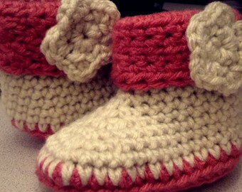Baby Booties 6-9 months