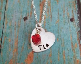 Tia Necklace - Tia - Gift for Tia - Favorite Tia - Gift for Aunty - Aunt -Aunty - Aunt Gift - Aunt Jewelry - Special Aunt - Spanish Jewelry