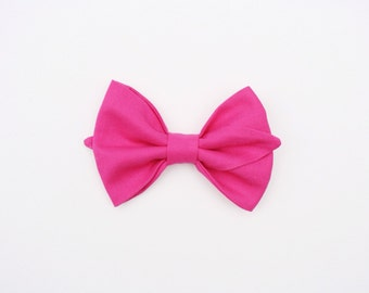 HOT PINK Flappy Bow