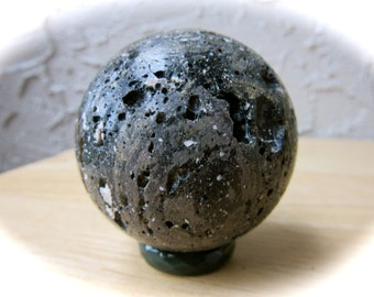Zhamanshin Meteorite Crystal Sphere Ball 46mm 102g