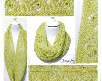 Knitting Pattern Cowl Isabella