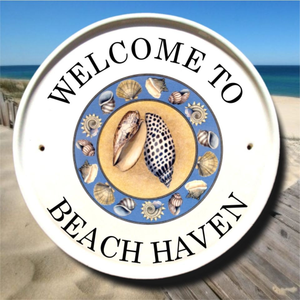 Welcome To Our Beach House Sign: Beach Welcome Sign Beach Signs Beach Wall Decor Beach House