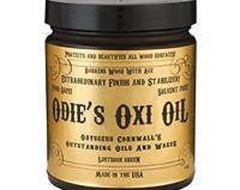 Odie's Oxi Oil - Food Safe, Solvent Free, Non-Toxic - 9 oz.